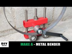 Sheet Metal Tools, Metal Bending Tools, Metal Working Tools, Metal Projects, Welding Projects, Cool Tools, Diy Tools, Metal Fabrication Tools, Homemade Machine