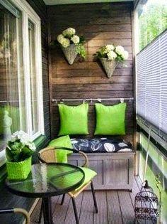 Erkély, balkon, terasz, téli kert...
