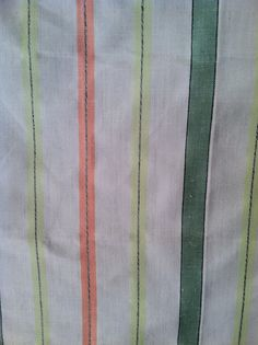 1950s Mid Century Crisp Striped by lostnfounddrygoods on Etsy, $22.00