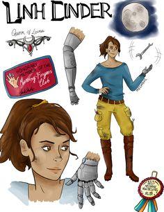 Linh Cinder from The Lunar Chronicles Lunar Chronicles Books, Kai, Good Books, My Books, Marissa Meyer Books, Harry Potter Art, Book Memes, Dance Art, Cinder