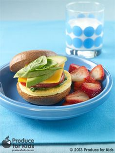 Veggie Egg Breakfast Sandwich