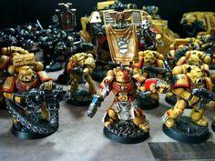 Imperial Fists, Land Raider, Land Speeder, Space Marines, Techmarine, Terminator Armor, Terrain, Warhammer 40,000