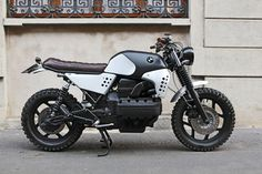 "BMW K100 Street Tracker ""Sentinel"" by Basic Garage #motorcycles #streettracker #motos 