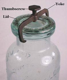 Bottles And Jars, Glass Jars, Canning Jars, Mason Jars, Mccoy Cookie Jars, Antique Glassware, Homemaking, Housekeeping, Closure