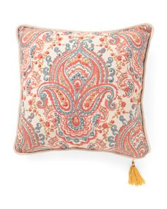 20x20+Reversible+Damask+Pillow