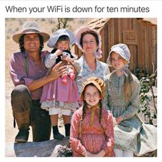When your WiFi is down for ten minutes 3