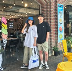 Normcore Style, Normcore Fashion, Korean Fashion Men, Mens Fashion, The Love Club, Asian Love, Korean Couple, Ulzzang Couple, Couple Outfits