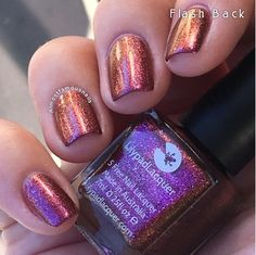 Lilypad Lacquer Flash Back, from the This Life Collection. Released Fall/Winter 2015 (pinned from Almost Famous Nails)