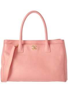 Spotted this Chanel Pink Caviar Leather Executive Cerf Tote on Rue La La. Shop (quickly!).