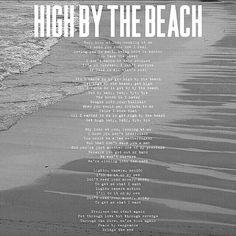 #lanadelrey Lana Del Rey #LDR #High_By_The_Beach