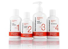 Dermalogica's new BIOACTIVE PEEL! a chemical peel that works with the skin, not against it. No scarring. No downtime.