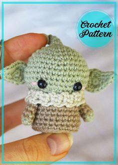 Doll Amigurumi Free Pattern, Crochet Unicorn Pattern, Crochet Keychain Pattern, Crochet Frog, Kawaii Crochet, Crochet Animal Patterns, Cute Crochet, Crochet Crafts, Crochet Dolls