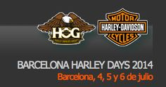 Serendipitylands: BARCELONA HARLEY DAYS 2014   &  ... ITS FREE!