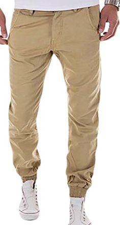 WANSHIYISHE Men Casual Camouflage Joggers Sweatpants Camo Cargo Pants