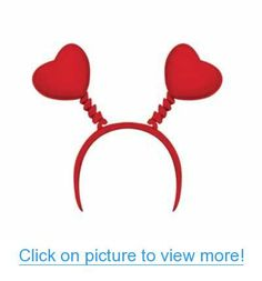 Heart Boppers Party Accessory (1 count) (1/Pkg) #Heart #Boppers #Party #Accessory #count #1_Pkg