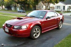 2003 Red Mustang GT