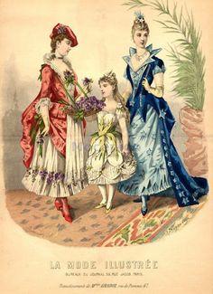 Mrs Bertin's Jewelry Box: Victorian Fancy Dress Fashion Plate