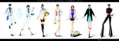 fashion drawings futuristic - Sök på Google