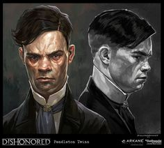Cedric Peyravernay is a French artist who has worked on games like Dishonored (indeed, we featured some of his paintings from that game a few years back).