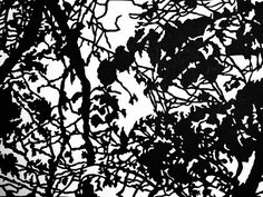 Junction Art Gallery - Kate Hipkiss 'Up in the Trees' papercut In The Tree, Woodstock, Paper Cutting, Galleries, Art Gallery, Oxford, Trees, Artist, Art Museum