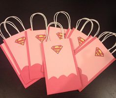 Supergirl Super Hero Goody Bags