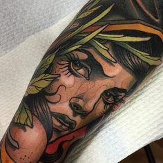 Electric Tattoos | samclarktattoos: This was fun. A start on Trevs...