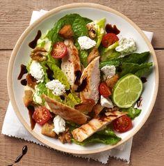 Salade Caesar légère au Carré Frais : la recette facile
