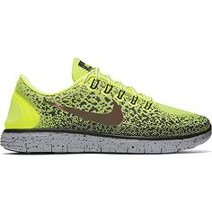 best sneakers 45cfa a4b30 The Nike Free RN Distance Shield Mens Running Shoe features Lunarlon  cushioning for comfort during longer runs, along with updated  water-repellent fabric ...