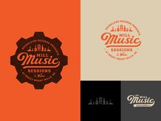 Mill Music Sessions by Bryan Cleghorn #Design Popular #Dribbble #shots