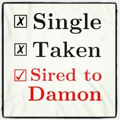 Damon forever ! <3