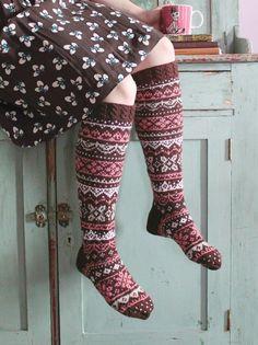High Socks, Christmas Stockings, Holiday Decor, Design, Fashion, Needlepoint Christmas Stockings, Moda, Thigh High Socks, Fashion Styles