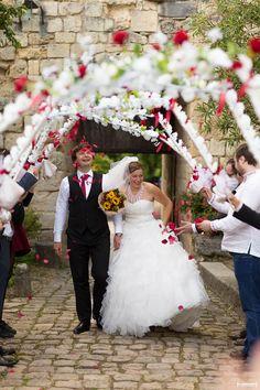 Mariage fleurie au chateau de Langoiran Bordeaux | Sebastien Huruguen