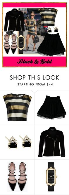 """""""..."""" by ma-nouvelle-vie-en-rose ❤ liked on Polyvore featuring Jennifer Lopez, True Decadence, Balenciaga, River Island, Zara, Marc Jacobs and Nach Bijoux"""