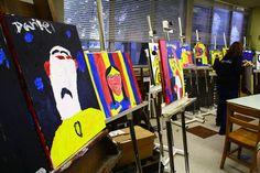 Nancy Rourke Paintings — Deafhood Identity