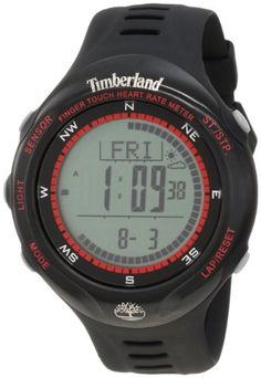 Timberland Unisex 13386JPBB_01 Washington Summit Digital Sensor Pacer Watch -- Click on the image for additional details.Note:It is affiliate link to Amazon.