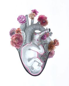 """Repost of amazing art & caption via @_vivind  """"HEaRt by Sharan Rana.  I would like to thank @likegirlbirth for contacting me and asking me to create a piece for their campaign that can inspire people to celebrate the birth of girls. . Female infanticide is an incredibly sickening issue which unfortunately continues to exist to this day. Certain societies around the world act with bias against females as they perceive females as subordinate because of their traditional roles as carers and…"""