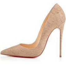 I am obsessed with shoes with an ankle bracelet. Plus these Loubs remind me of the Barbie shoes that I used to collect when I was a kid.Shoes Christian Louboutin#inline_13
