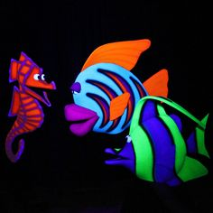 blacklight puppets - Google Search