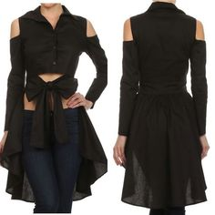 peplum top with cape - Google Search