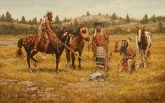 """""""On The Powder River"""" ~ by Steven Lang"""