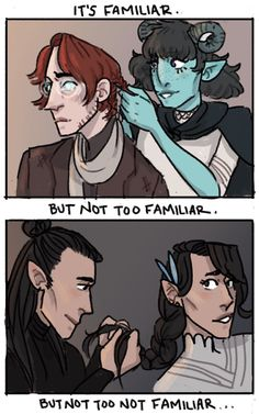 Critical Role, campaign 2 and campaign (unk art credit) <<<< I immediately thought of mbmbam not gonna lie Critical Role Comic, Critical Role Campaign 2, Critical Role Fan Art, Vox Machina, D D Characters, Voice Actor, Inevitable, Dungeons And Dragons, Character Design
