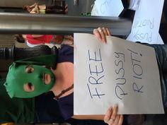 #FreePussyRiot