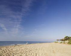 Cabopino Beach. Marbella Spain.   Enjoy walking !