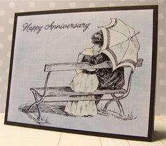 Anniversary card. Cute!