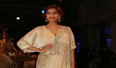 "Sonam Kapoor attends Anamika Khanna's India Couture Week show NEW DELHI :  Bollywood actress Sonam Kapoor made a striking appearance at fashion designer and her frequent collaborator Anamika Khanna's show on the third day of FDCI India Couture Week 2016.  The 31-year-old ""Neerja"" star wore a champagne hued floral embroidered half saree with a loose blouse. She completed her look with a red lipstick.  ""I've just seen the most spectacular show. @anamikakhanna.In you're a genius! In…"