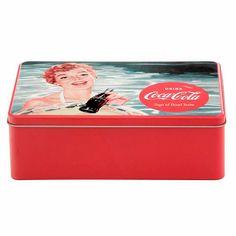 COKE PIN-UPS LATA PARA BISCOITO 3VRD - Tok
