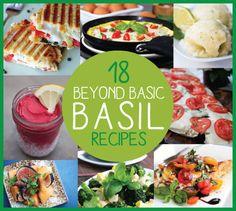 18 Beyond Basic Basil Recipes