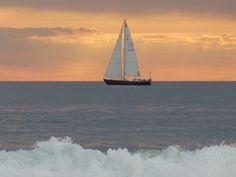 sailing ship in Venice Beach California