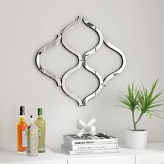 online shopping for Pilning Lattice Wall Mirror Latitude Run from top store. See new offer for Pilning Lattice Wall Mirror Latitude Run Wall Mirrors Set, Round Wall Mirror, Mirror Set, Frames On Wall, Framed Wall, Lattice Wall, Glam Living Room, Contemporary Wall Mirrors, Sunburst Mirror