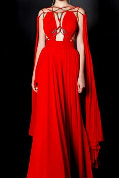 basil soda, Couture, and fashion Bild Pretty Outfits, Pretty Dresses, Runway Fashion, High Fashion, Fantasy Dress, Beautiful Gowns, Costume Design, The Dress, Evening Dresses